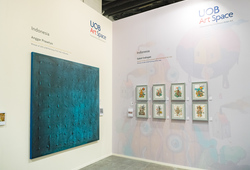 UOB Artspace at Art Stage Singapore 2018 #1