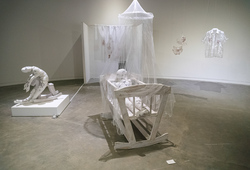 """Trimatra: A Post-Residency"" Installation View #2"