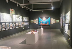 """Indonesia Art Awards 2018: Dunia Komik"" Installation View #1"