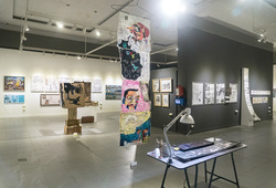 """Indonesia Art Awards 2018: Dunia Komik"" Installation View #3"