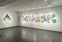 """On Traces"" Installation View #1"
