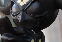 Batmouse Black (Detail View)