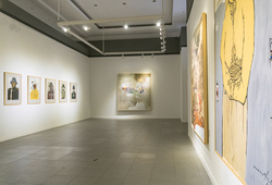 """57 x 76"" Installation View #3"