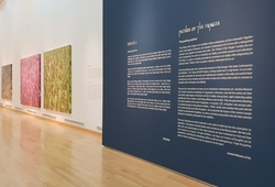 """""""Pathos of the Fringes"""" Installation View #1"""