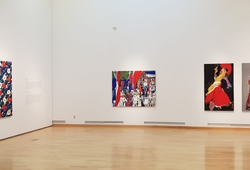 """Pathos of the Fringes"" Installation View #2"