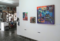 "Heading JIMB 3 - ""Art Collective"" Installation View 2"