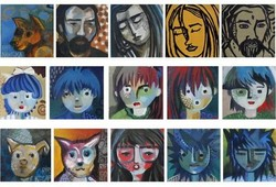 Family Member (15 panels)