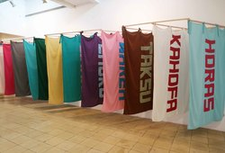 Nusantara Flag Project by Arahmaiani & Tritura