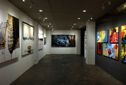 """Nu Abstract"" Installation View #6"