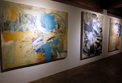 """Nu Abstract"" Installation View #1"