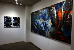 """Nu Abstract"" Installation view #2"
