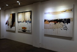 """Nu Abstract"" Installation View #3"