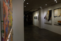 """Nu Abstract"" Installation View #4"