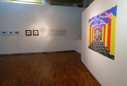 """""""Pameran Seni Grafis: Gandaan & Ekspresi"""" Installation View"""