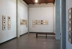 3rd Jogja International Miniprint Biennale 2018 'Message From The Matrix' Installation View #3