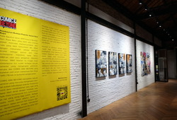 """""""Comic and Beyond"""" Exhibition View #1"""