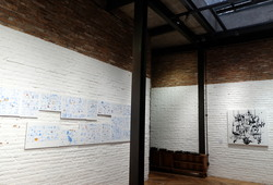 """Comic and Beyond"" Exhibition View #2"