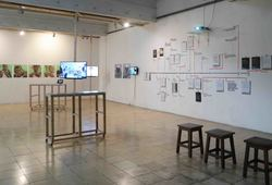 Choreographed Knowledges Installation View #2