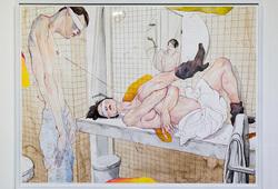 Fragmen Kamar-Mandi - After Egon Schiele
