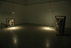 """The Monster Chapter II: Momentum"" Instalation View #1"