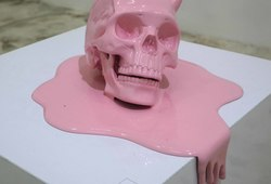 Melting Skull #1 Happy Ending (detail view #1)