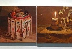 Rampasan Prabu (Gambuh Series) #1, #2, Cahaya Dramati Gambuh, Kain Putri Terurai Panjang