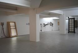 """Melintas Bunyi"" Installation View #1"