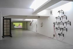 """Melintas Bunyi"" Installation View #2"
