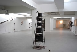 """Melintas Bunyi"" Installation View #3"