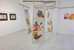 Ora Saru Installation View