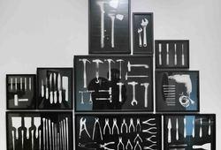 Kapak, Pasangan Kunci Inggris, Easel Set, Woodcut Tools, Set Pisau Dapur, Kumpulan Palu, Bor Listrik, Brush Painter, Kumpulan Catut, Palet Family
