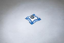 Desk Bell & Handkerchief