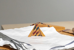 Papers & Folded Envelope (Detail View)
