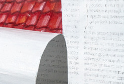 Folded Newspaper (Detail View #1)