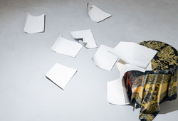 Falling Papers (Detail View)
