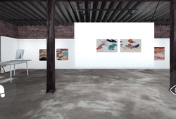 The Perfect storm, A Poem of colors Installation View #1