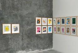 """""""30 Days of Weekdays"""" Installation View #1"""