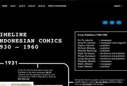 Toko Buku Liong - Jilid III The Making of a Body-2.2. Timeline Indonesia Comics 1930-1960