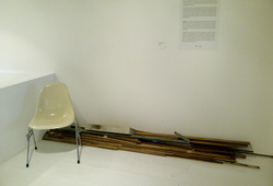 """""""A Proposal for A Permanent Fixture at Ark Galerie in Two Editions"""" #5"""
