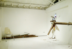 """""""A Proposal for A Permanent Fixture at Ark Galerie in Two Editions"""" #2"""