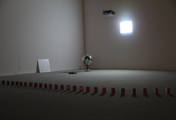 Installation View of Lure