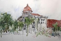 Gedung Eks Chartered Bank Jl. Kali Besar Barat no 1-2.