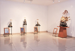 """Indonesian Art World and RE. Claim Exhibition"" Installation View"