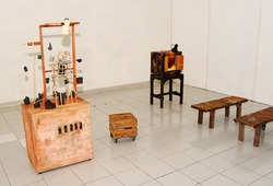Installation View Iwan Effendi