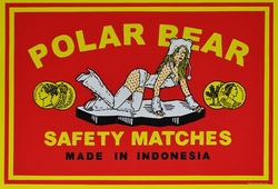 Polar Bear [safety matches series]