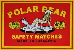 Polar Bear [safety matches series]