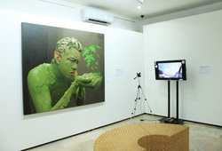 Installation View M Rizky