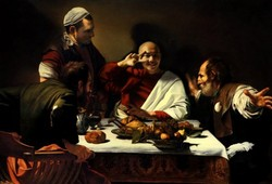 Happy Religionâ??The Supper At Emmaus