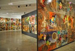 Installation View of Kundalini Bumi #2