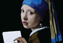 It is All About Myth (after Vermeer)